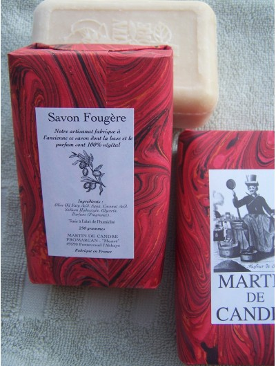Pressed Soap Fougère 250g – 12 essences