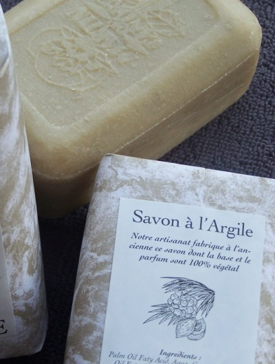 Pressed Soap Argile 160g – Clay